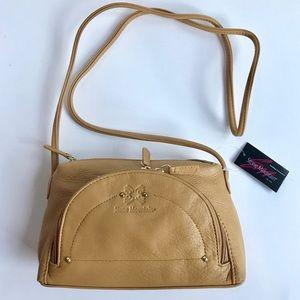 NWT Stone Mountain leather crossbody purse